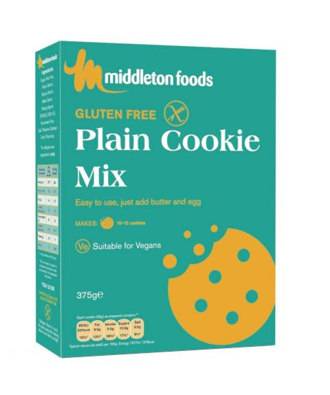 Middleton's Plain Cookie Mix 375G
